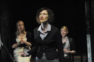Gillian Durkee, Nesba Crenshaw, Cori Hundt in The Spoils, 2011